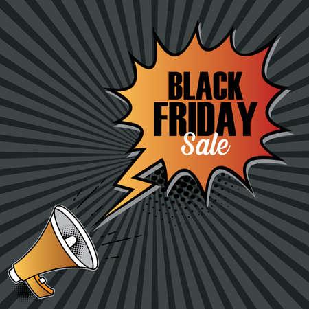 Black friday sale,sale banner design template, discount tag, app icon, vector illustration Vector Illustration