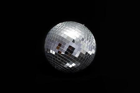 discoball: disco ball for dancing in a disco club Stock Photo