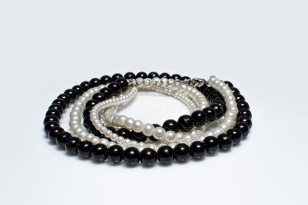 pearl jewelry: pearl jewelry for women Stock Photo