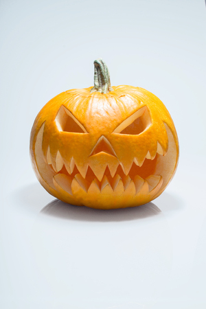 all saints  day: pumpkin for All Saints Day Stock Photo