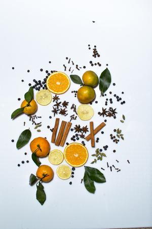 mulled wine spice: cinnamon, tangerine, mulled wine, anise, orange, wine,