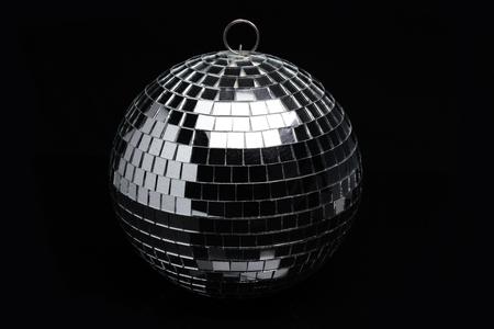 mirrorball: Disco mirror-ball on black