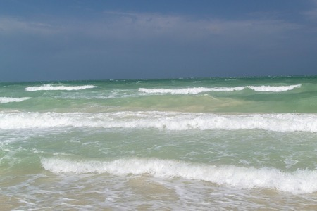 waves in the summer sea