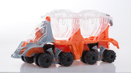 Childrens toy car Foto de archivo