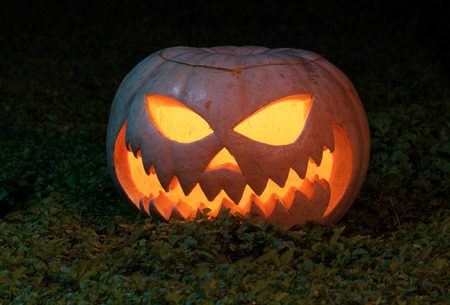 Group of evil pumpkins Banque d'images - 116075293