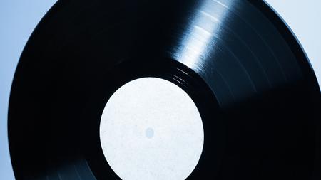 Vinyl retro record