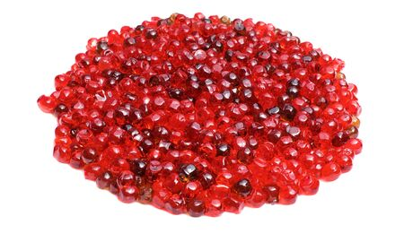 Texture of red caviar, salty red caviar Banque d'images