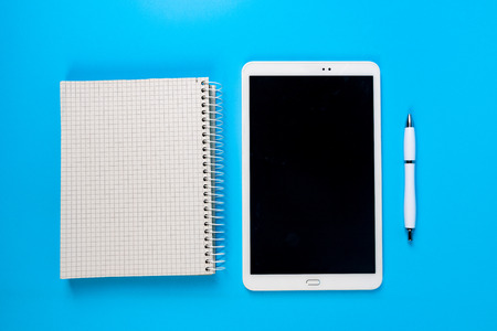 take notes on your tablet and notepad