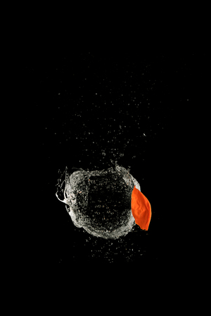 Balloon explosion high speed photography Zdjęcie Seryjne