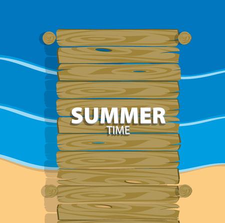 summer time Ilustracja