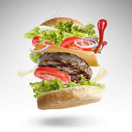 Floating Burger