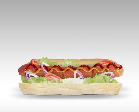 Hot dog Zdjęcie Seryjne