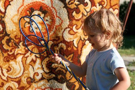 Lening tapijt