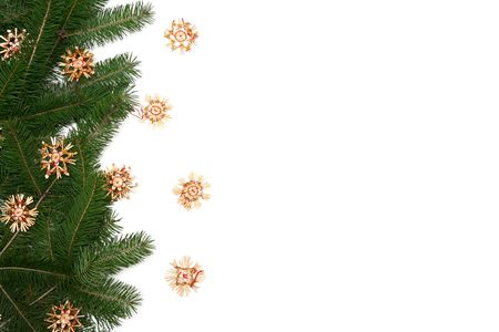 Christmas Tree Frame Stock Photo, Picture And Royalty Free Image ...