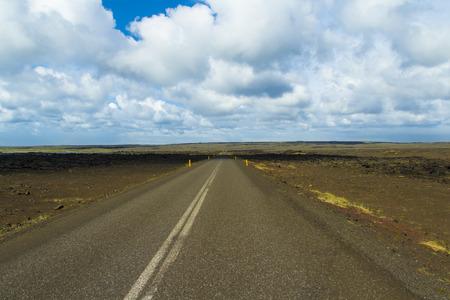 Rarely driven road