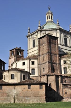 san lorenzo east back side, milano
