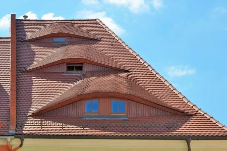 three eyes roof, bautzen Stock Photo