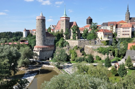 view of city center, bautzen Stock Photo