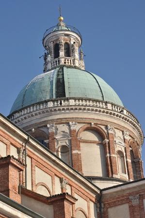 sanctuary dome, caravaggio Stock Photo