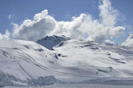 tognola peak, dolomites photo