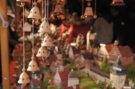 little bells at medieval market, esslingen Stock Photo - 11572984