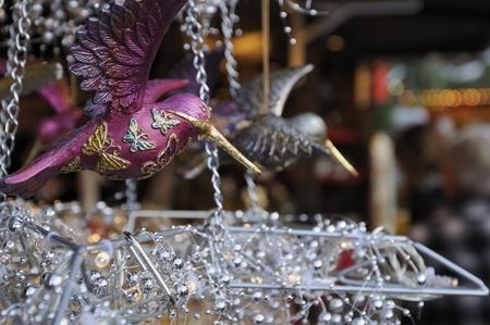 glass bird at medieval market, esslingen Stock Photo - 11572986