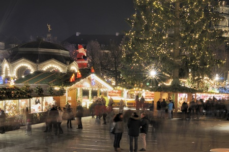 christmas market, stuttgart Stock Photo - 11565061