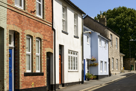 old houses at Moretonhampsted, Devon