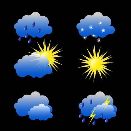 Illustration de photos météo