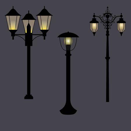 Street Lantern in romantic style