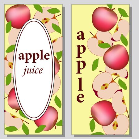 fruit card and inscription