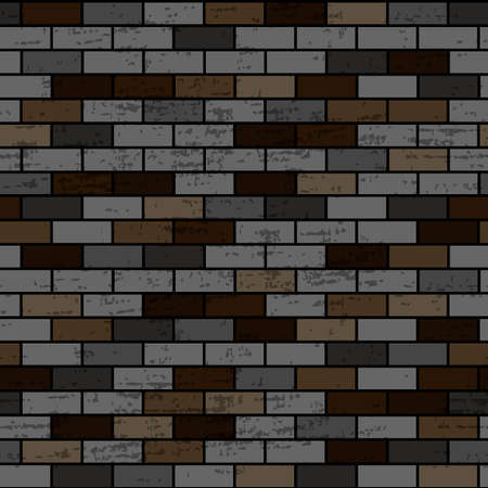 seamless pattern in the form of a brick wall, ornament for wallpaper and fabric, wrapping paper, background for different designs