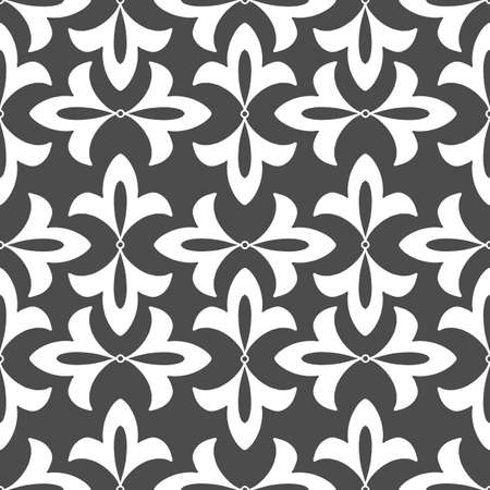 seamless pattern, abstraction in monochrome colors, ornament for wallpaper and fabric, wrapping paper, background for different designs