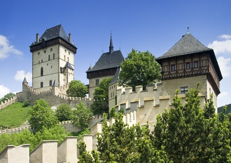 Karlstejn castle-historic czech landmark