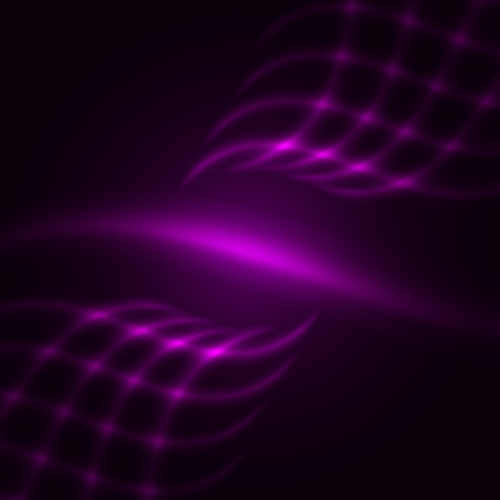 purple stars: Abstract purple background. Glowing grid.