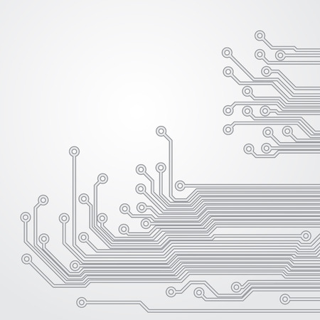 mother board: Abstract background with a circuit board texture.  Illustration