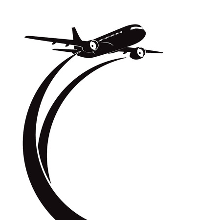 Airplane Stock Vector - 29185536