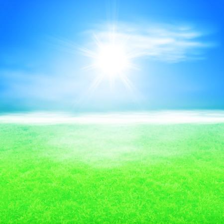 sunshine background: Summer sunshine background.