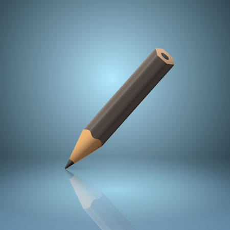 sharpened: Black sharpened pencil icon.