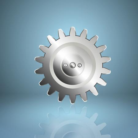 timekeeper: Gear icon.  Illustration