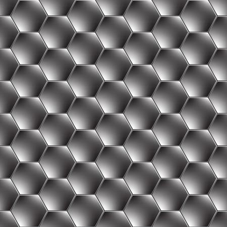 fib: Fondo de metal del hex�gono con la reflexi�n de luz.