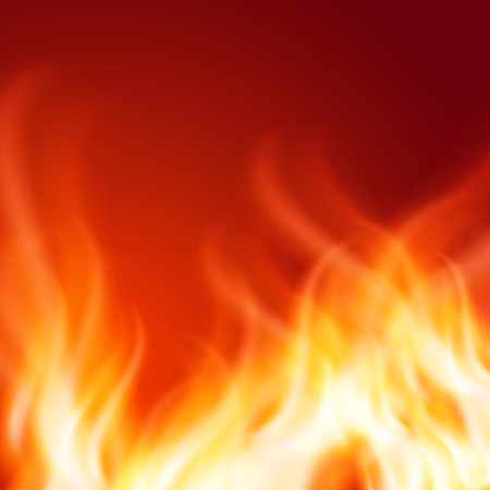 abstrakcje: Abstract fire background. EPS10 vector.