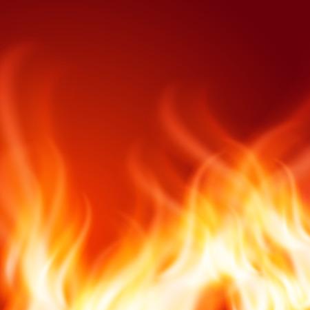 Zusammenfassung Feuer Hintergrund. EPS10-Vektor.