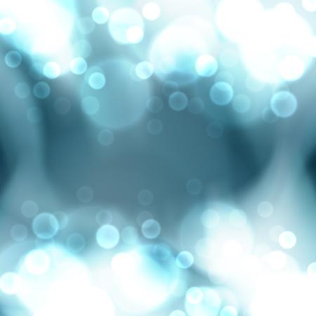 blue christmas lights: Blue christmas lights . EPS10 vector. Illustration