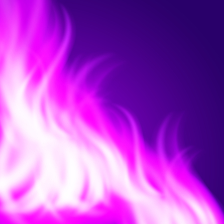 Abstract purple fire background. EPS10 vector.