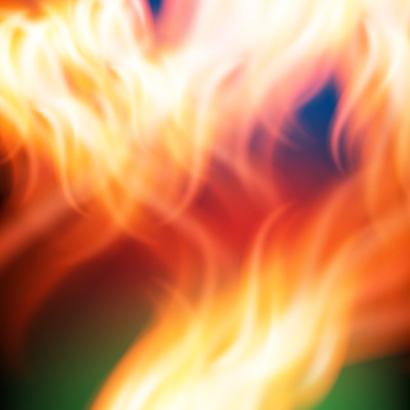 Abstract rainbow fire background