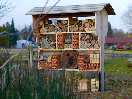 nature protection: Insect Hotel Nature Protection