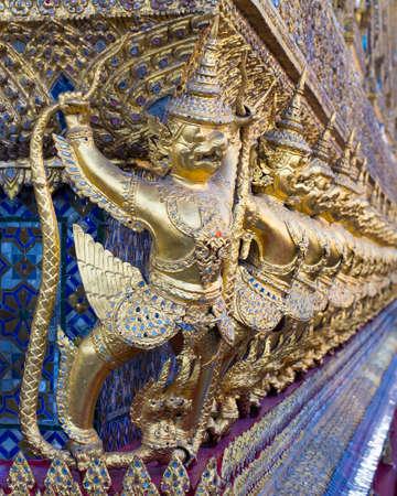 beautiful golden Thai photo