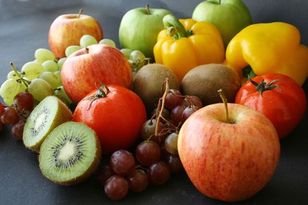 bunch of fruits & vegetable Stock Photo - 535305