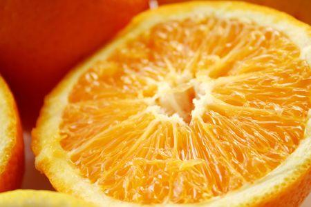 half stuff: Orange fruit